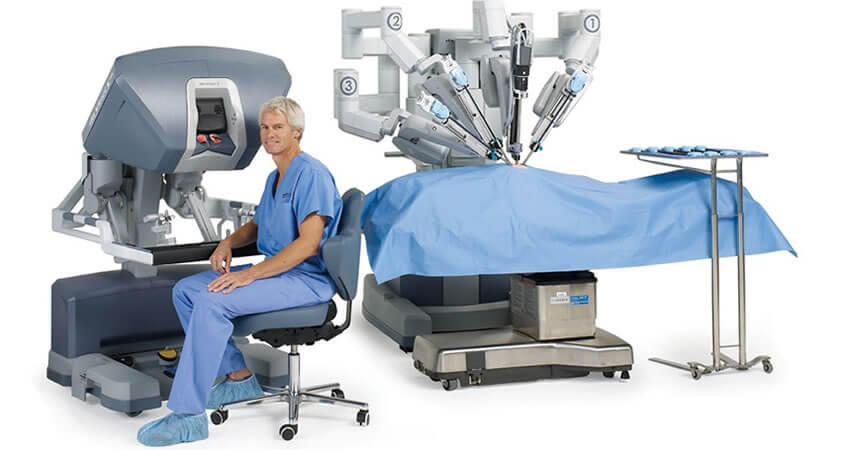 Robotic Assisted Heart Surgery
